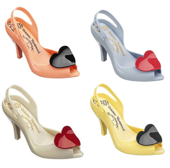 Vivienne Westwood shoes by Melissa