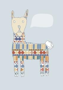 jens card llama body