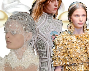 adorn london jewellery trends blog as2012 pearls alexander mcqueen balmain dolce and gabbana baroque pearls