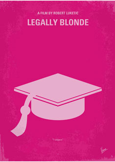 No301-My-Legally-Blonde-minimal-movie-poster-235PX