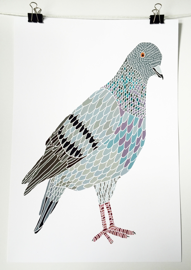 Pigeon Print
