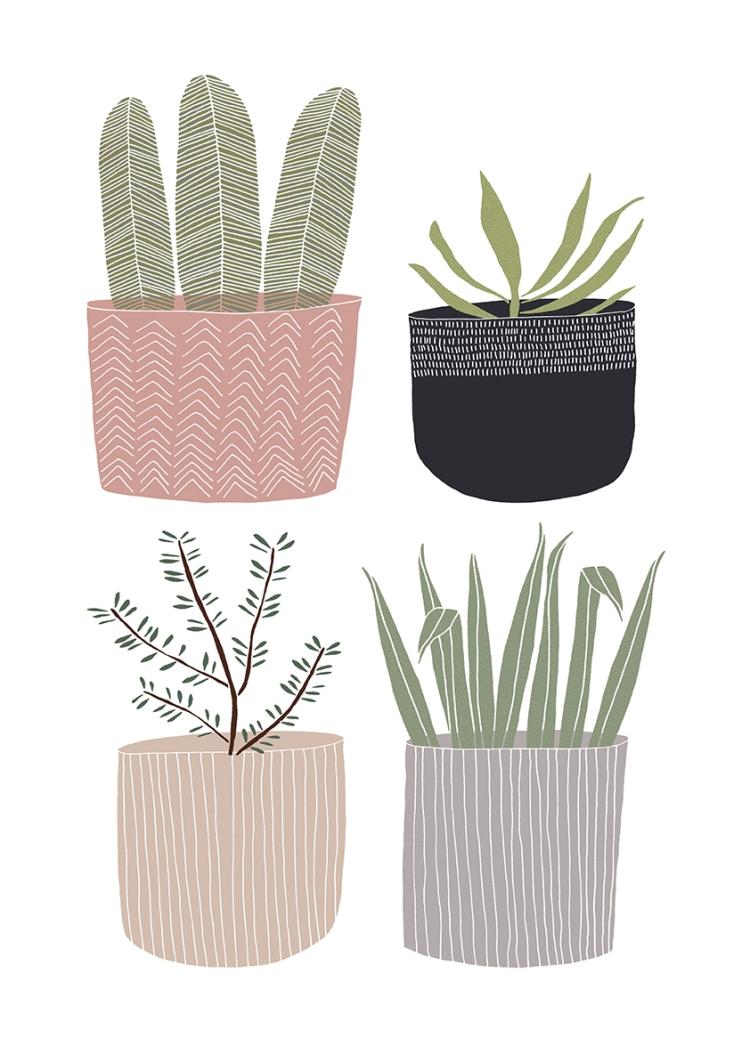 Plant Pot Print 3